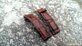 «Ремешoк для часов с ручной прошивкой