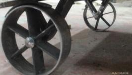 Винтажные колёса, для мебели.Loft.