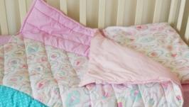 Комплект в детскую кроватку для девочки Sweet Ice Cream
