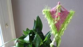 Декор для цветочного горшка