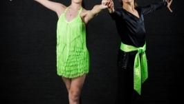 Мужская туника и брюки для бальных танцев Латина