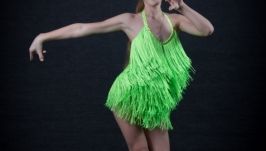 Платье для бальных танцев (латина) Youth