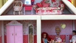 Кукольный домик 120х80х35 см