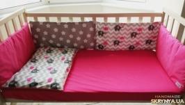 Комплект в кроватку Pink Elephant