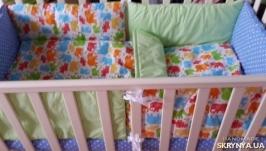 Комплект в кроватку Bright Elephant