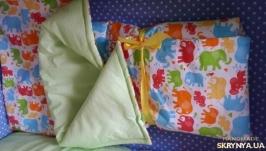 Одеяло-конверт на выписку Bright Elephants