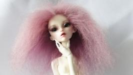 Парик для куклы Розовые сны