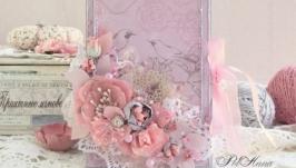 Конверт Розовая нежность