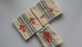 Набор льняных полотенец