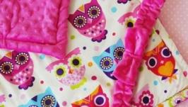 Одеяло-конверт на выписку Funny Owls