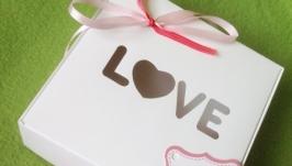Коробочка подарочная для любимых!