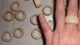 Деревянные кольца на палец 109