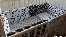 Комплект в кроватку Little Jentlman