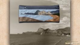 Кошелек-пенал с пейзажем