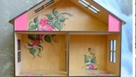 Деревянный кукольный домик из фанеры