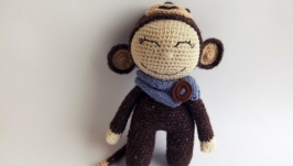 Пупс Веселая обезьянка