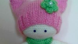 В′язана ляля-пупс ручної роботи