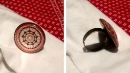 Перстень пурпурова мандала