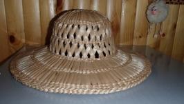 Шляпа Бриль з рогозу