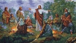 Образ вишитий хрестиком. ручна робота