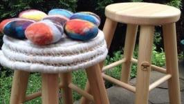 Эко дизайнерский табурет для кухни и детской