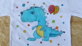 Футболка с динозавриком))