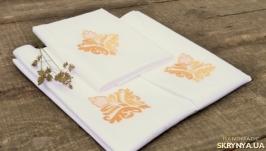 Постельное белье с вышивкой Вензель