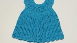 Бірюзова сукня