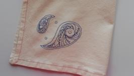 Льняное полотенце