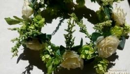 Венок для невесты, фотосессии, для девушки, девочки Тоскана