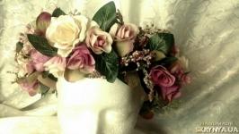Венок для невесты, фотосессии, для девушки, девочки Рустик