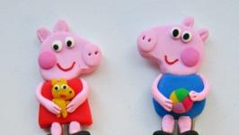 Ложечки с Свинками Пепой и Джоржем