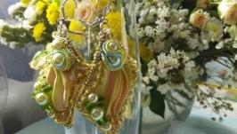 Сережки Яблуневий цвіт