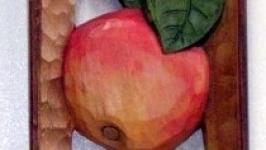 Скульптура на стіну ЯблукоГруша