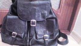 Рюкзак класический из натуральной кожи