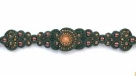 Сутажный браслет Goganni