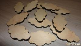 Деревянная заготовка Облако. Тучка