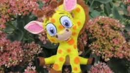 Фетровая игрушка ′Жирафик′
