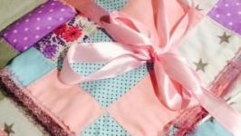 Текстильный комплект в стиле пэчворк