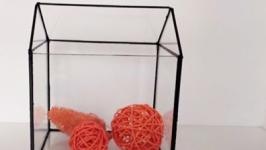 Форма для флорариума, геометрический флорариум