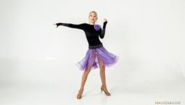 Платье для бальных танцев (латина) ′Lavander′s Mystery′
