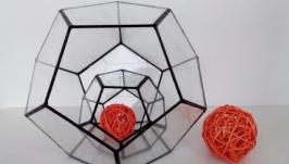 Геометрическая форма для флорариума ′ Додекаэдр′ (′Мячик′)