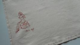 Полотенце в стиле Pin Up