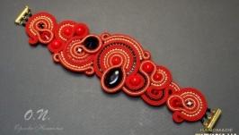 Сутажный браслет ′Индия′