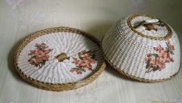 Хлебница плетеная ′Цвет яблони′