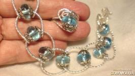 Синева в серебре