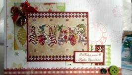 Набір листівок в подарунковій коробочці