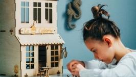 Ляльковий будинок ′Кафе′. Домик для кукол