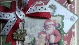 новорічна листівка