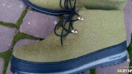 Эко -ботинки мужские из шерсти ′Гектор′